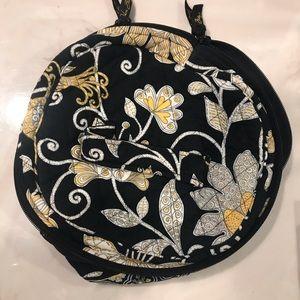 Vera Bradley Round Cosmetic/Jewelry Bag